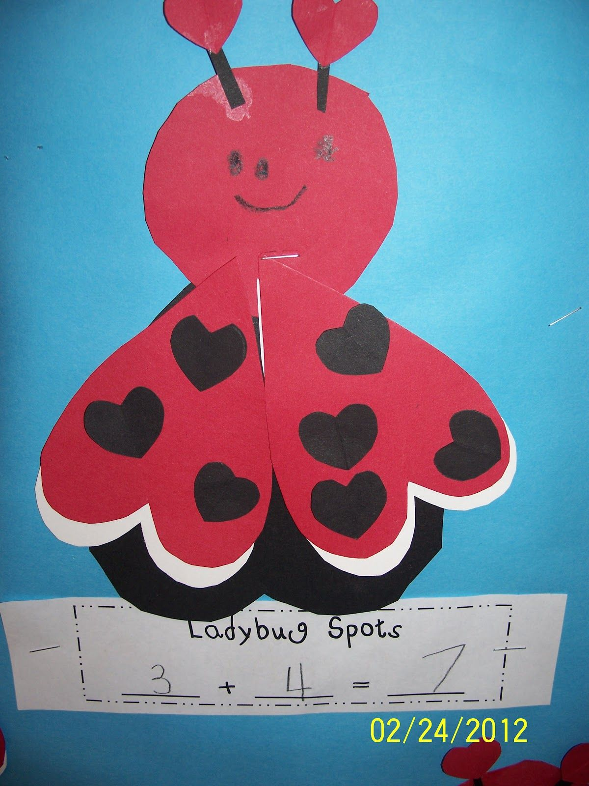 Math Art Center Mrs Egley S Kindergarten Ladybug Math