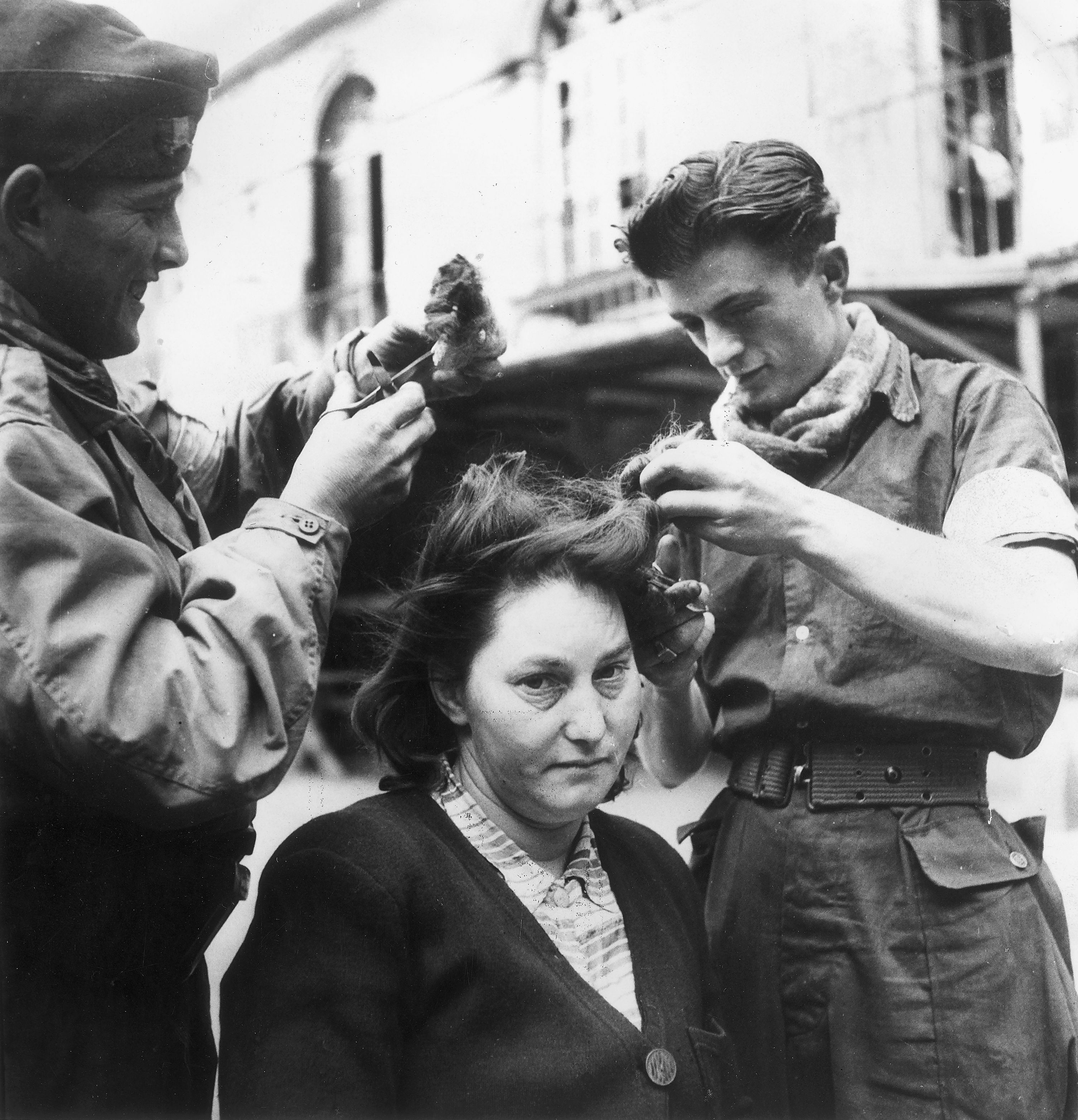 collaborators Shaved women