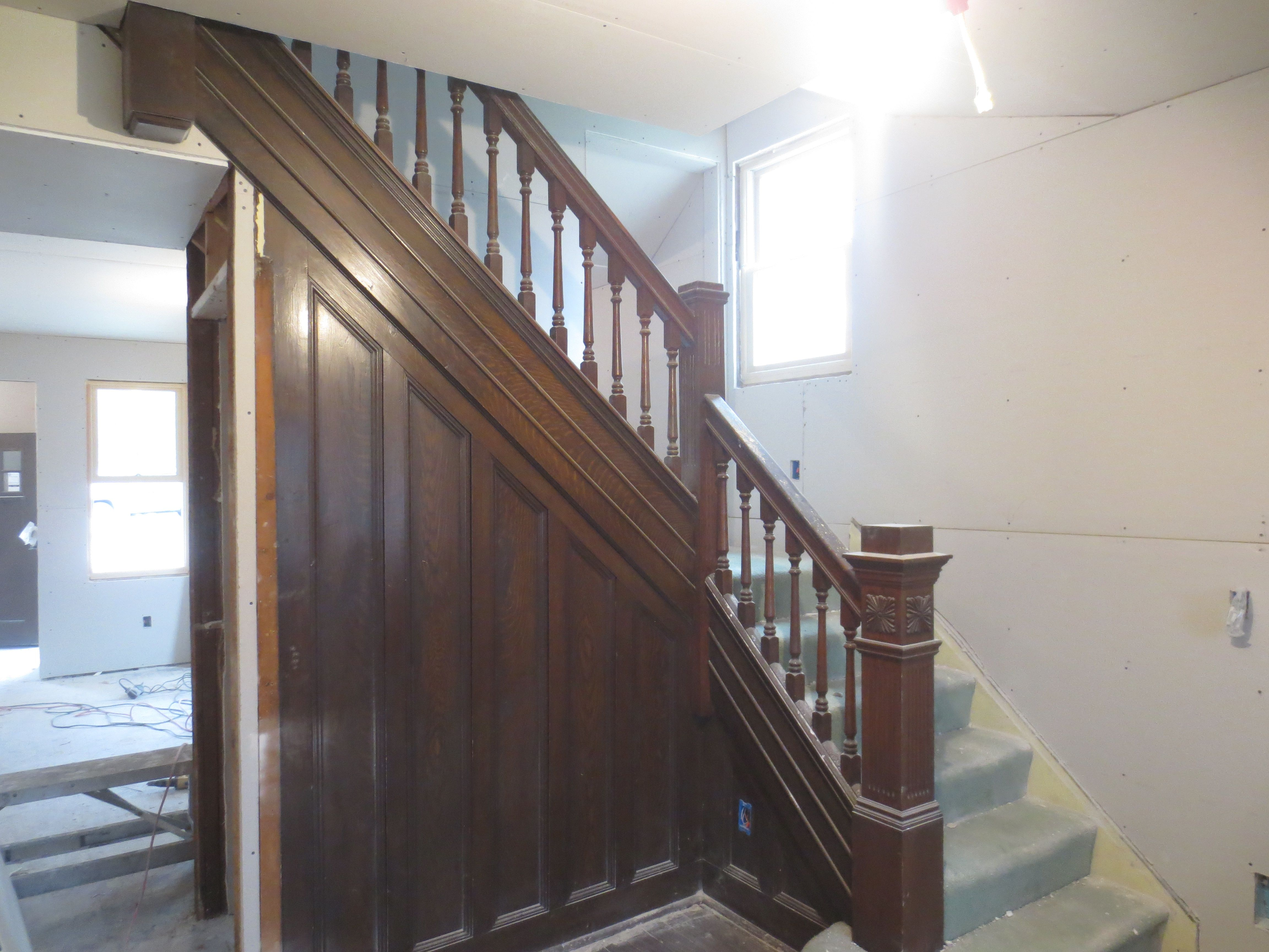 old wooden staircase - Google Search
