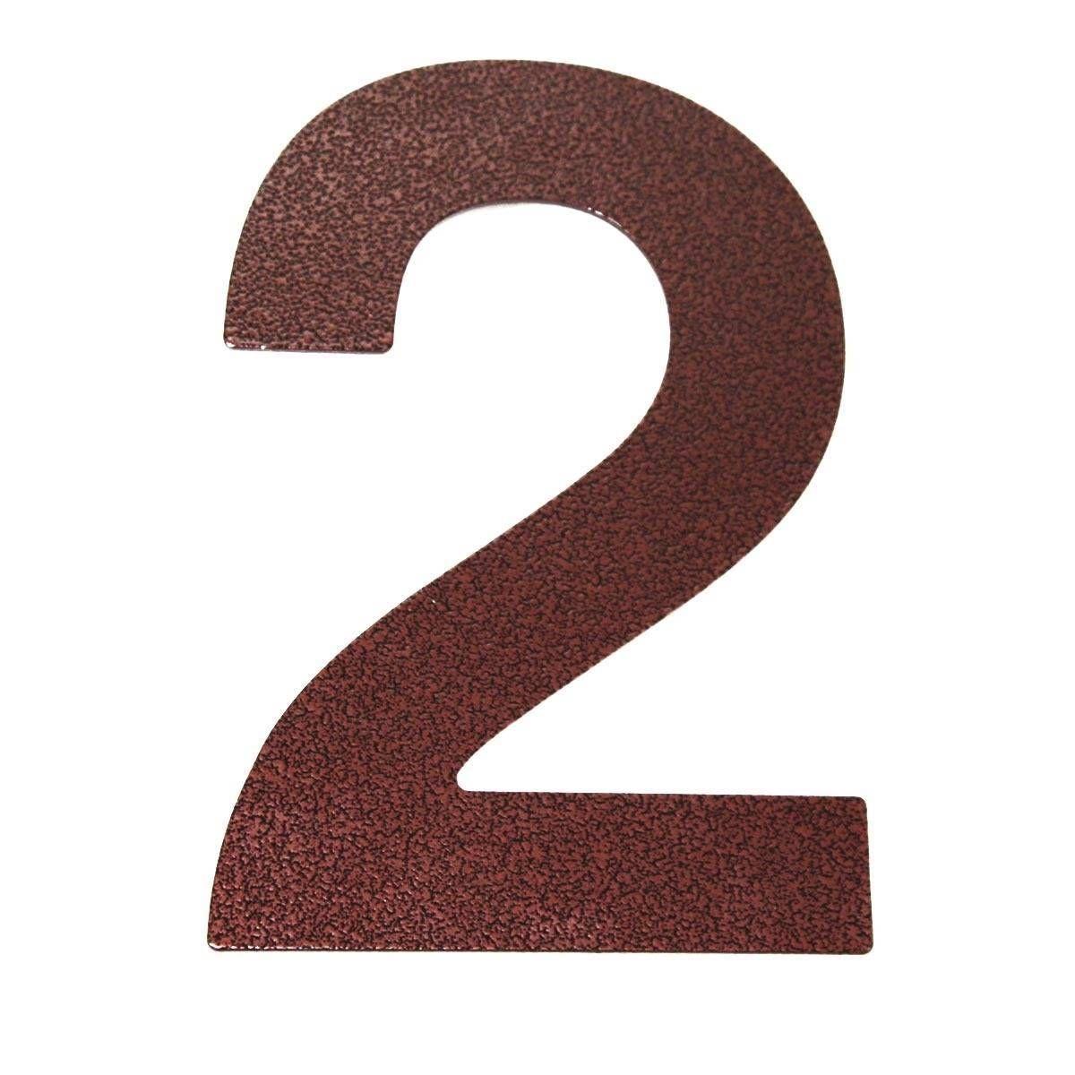 Hausnummer 3 aus Acrylglas,Farbe Anthrazitgrau,6mm stark,3D-Wirkung,von ALEZZIO®