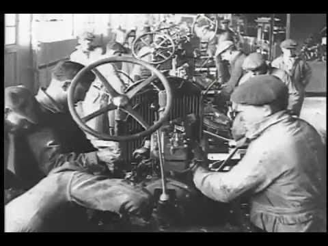 Ford Auto Manufacturing Old And New The Moving Assembly Line Youtube Ford Models Model T Model