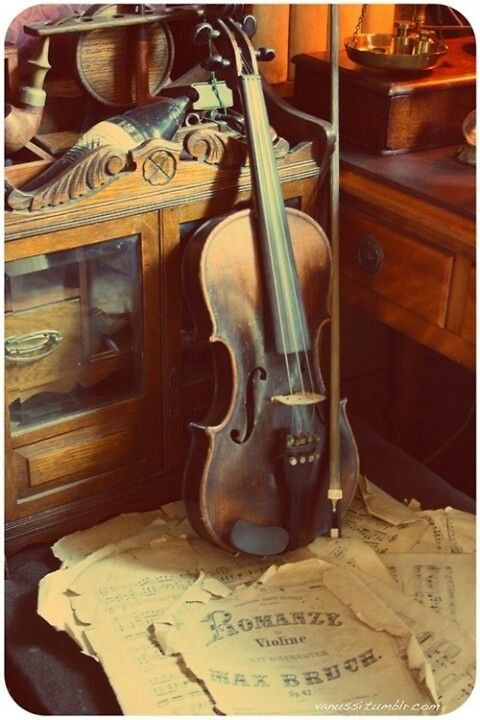 Buy an old violin from a pawn shop! | bucket list