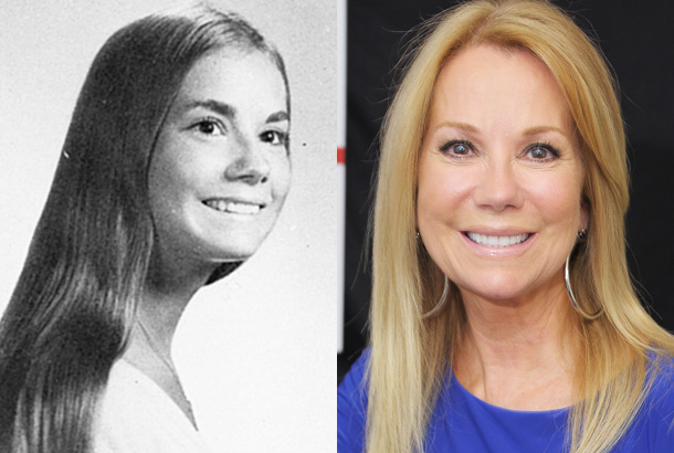 Kathie Lee Gifford Celebrities then and now, Celebrity
