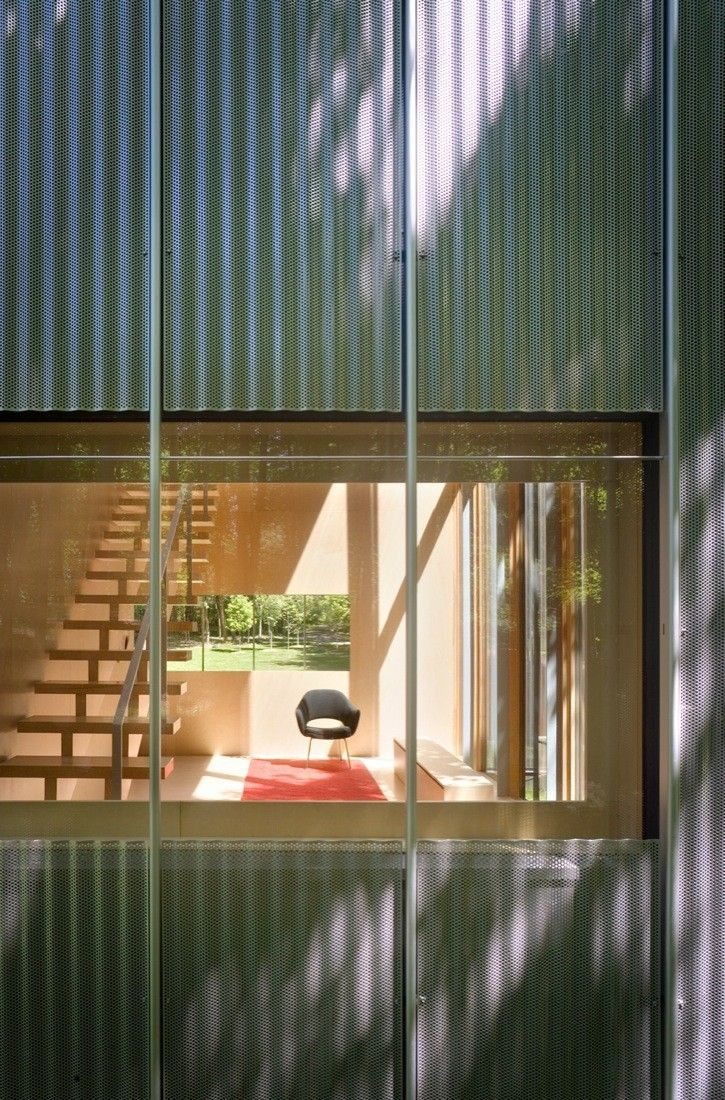 Gallery Of Salt Point House Thomas Phifer And Partners 8 Salt Point Architecture Architecture Details