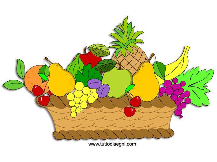 Couleur ete 709 532 coloriages d 39 et - Contorno di immagini di frutta ...