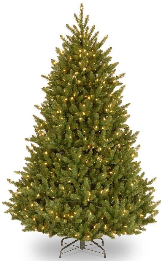 national tree company 65 ft pre lit fraser fir artificial christmas tree - Fraser Fir Artificial Christmas Tree