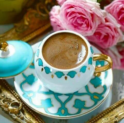 No matter what time of day, Turkish coffee is always enjoyable.