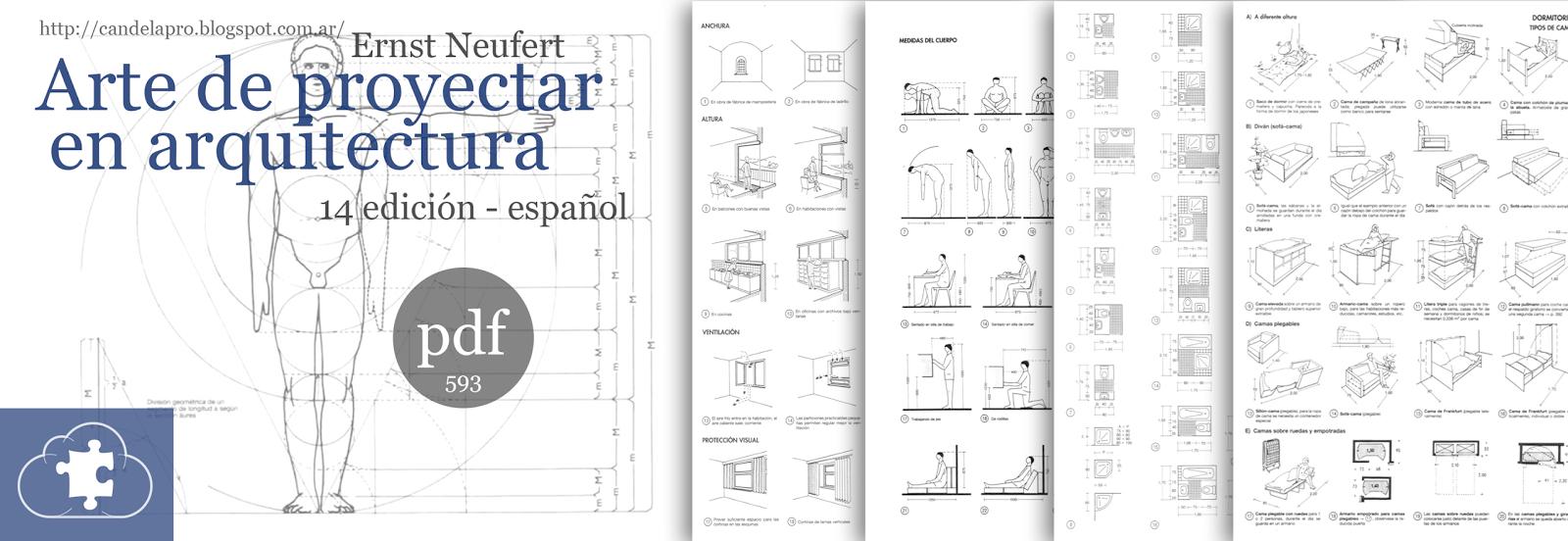 Neufert arte de proyectar en arquitectura espa ol for Planos de arquitectura pdf