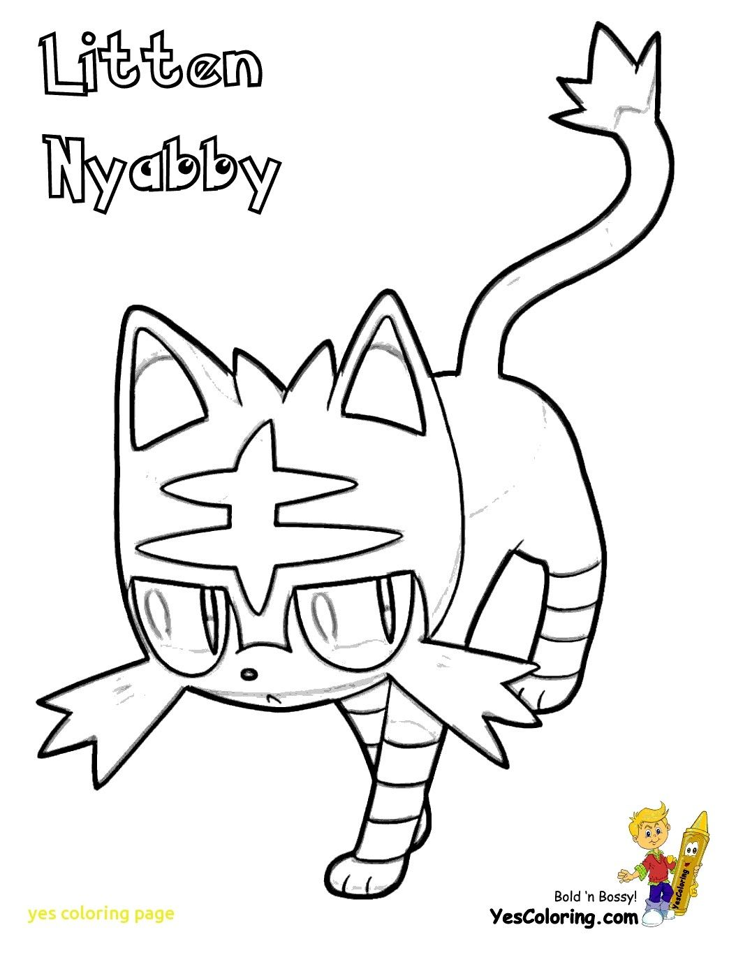 Pokemon Litten Coloring Pages To Print