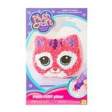 Plush Craft Fabric By Number Purr Fect Cat Pillow Plush Craft Cat Pillow Toys For Girls