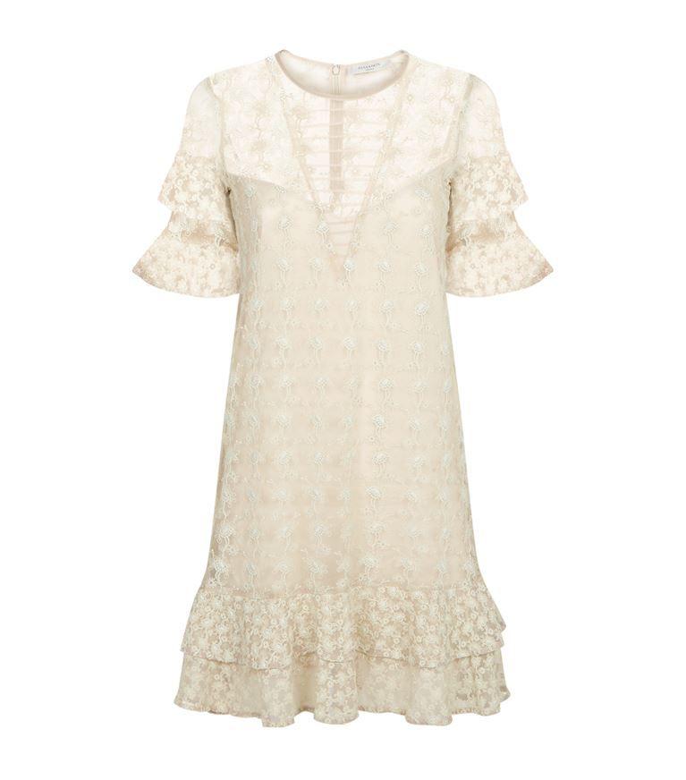 7c5ac2fbf2 ALLSAINTS Henrietta Ruffle Dress.  allsaints  cloth
