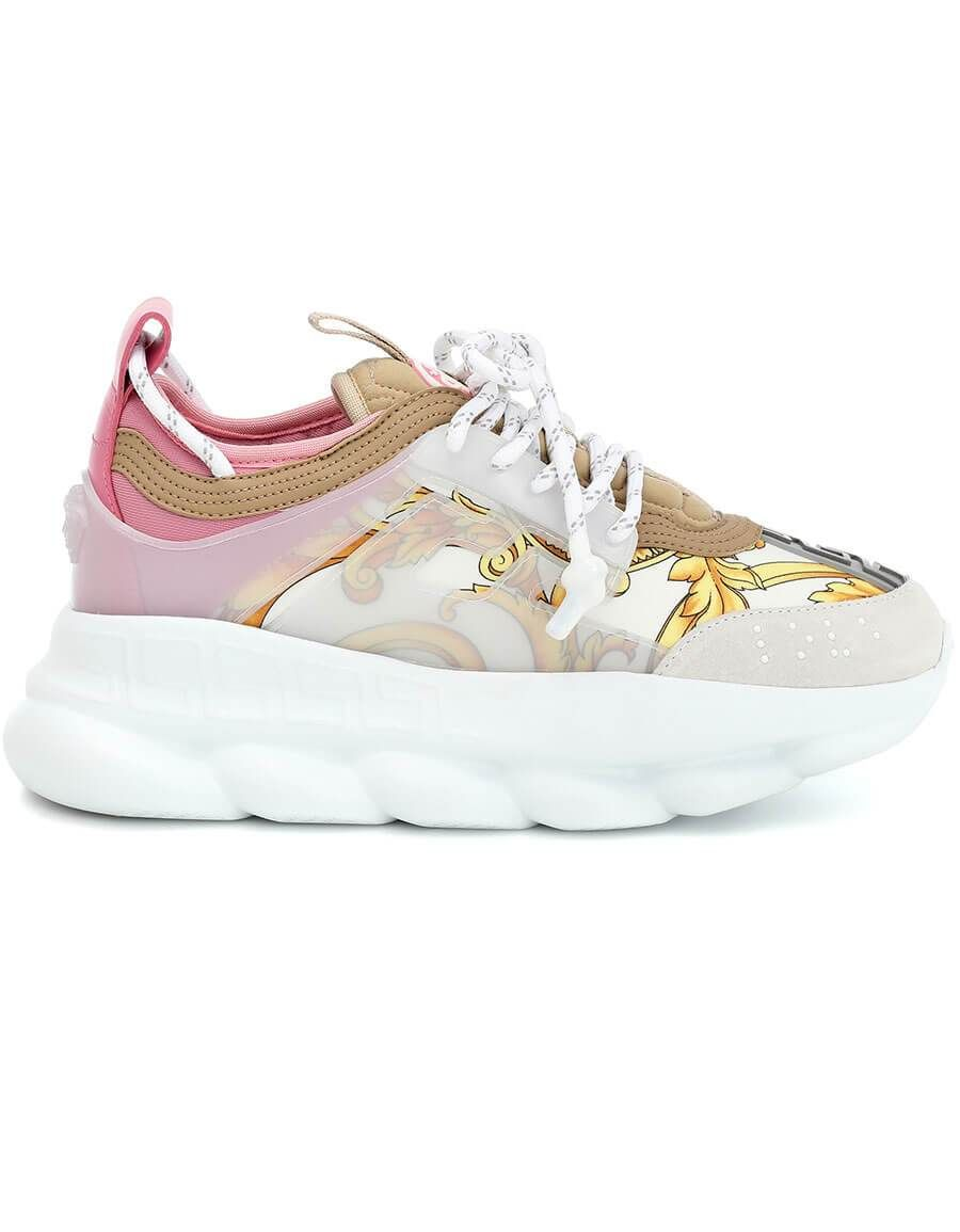 69ee8ab297 h3>VERSACE</h3> Chain Reaction sneakers in 2019 | Women Shoes ...