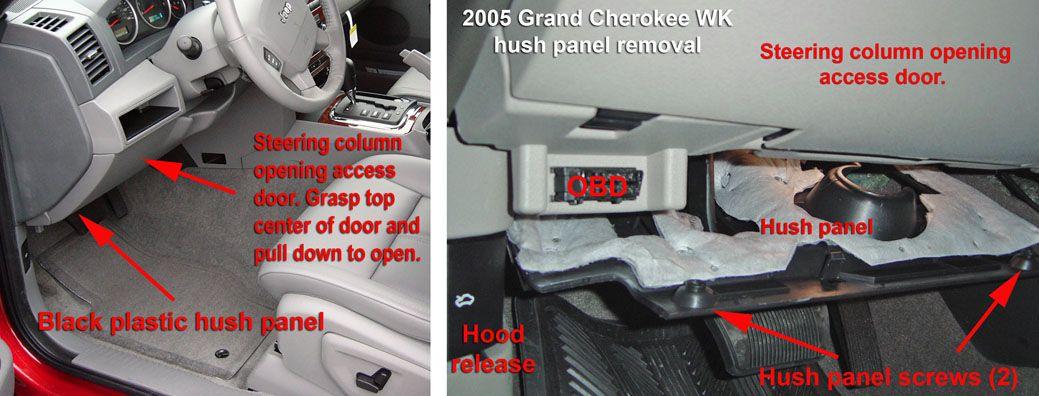 WK hush panel Jeep Pinterest Jeeps, Interior trim