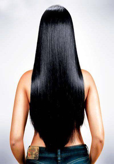 Black Hair Beautiful Longhair Long Hair Styles Shiny Black