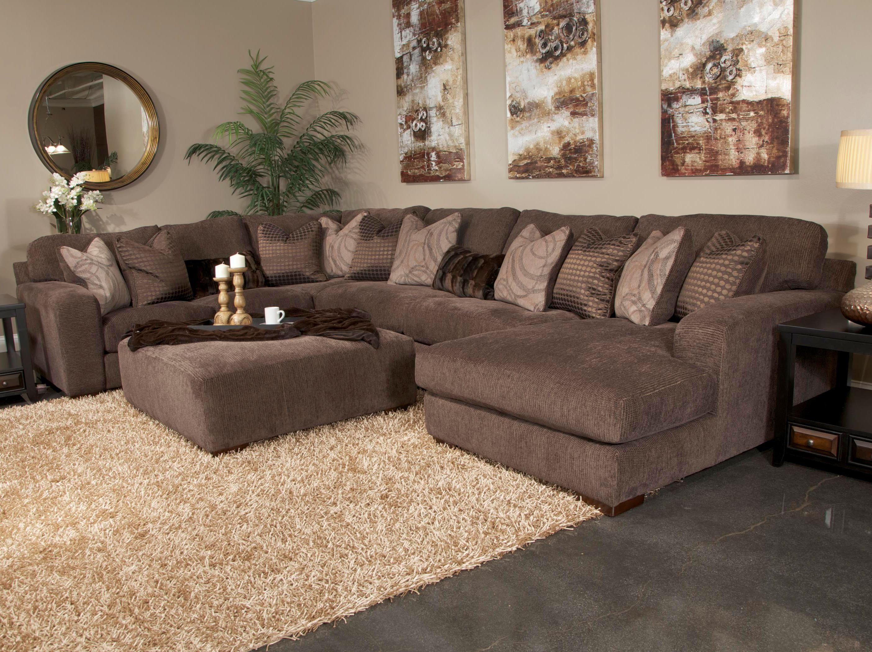 Room · Serena Five Seat Sectional Sofa By Jackson Furniture