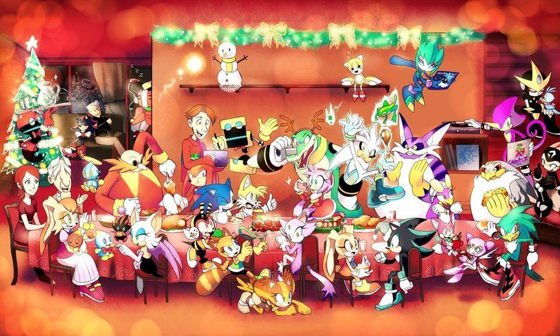 """StH art,Sonic,соник, Sonic the hedgehog, ,фэндомы,Vanilla the Rabbit,StH Персонажи,Dr. Eggman,Sonic the hedgehog,Knuckles The Echidna,Miles """"Tails"""" Prower,Amy Rose,Vector the Crocodile,Silver the hedgehog,Big the Cat,Espio the Chameleon,Storm the Albatross,jet the hawk,wave the"""