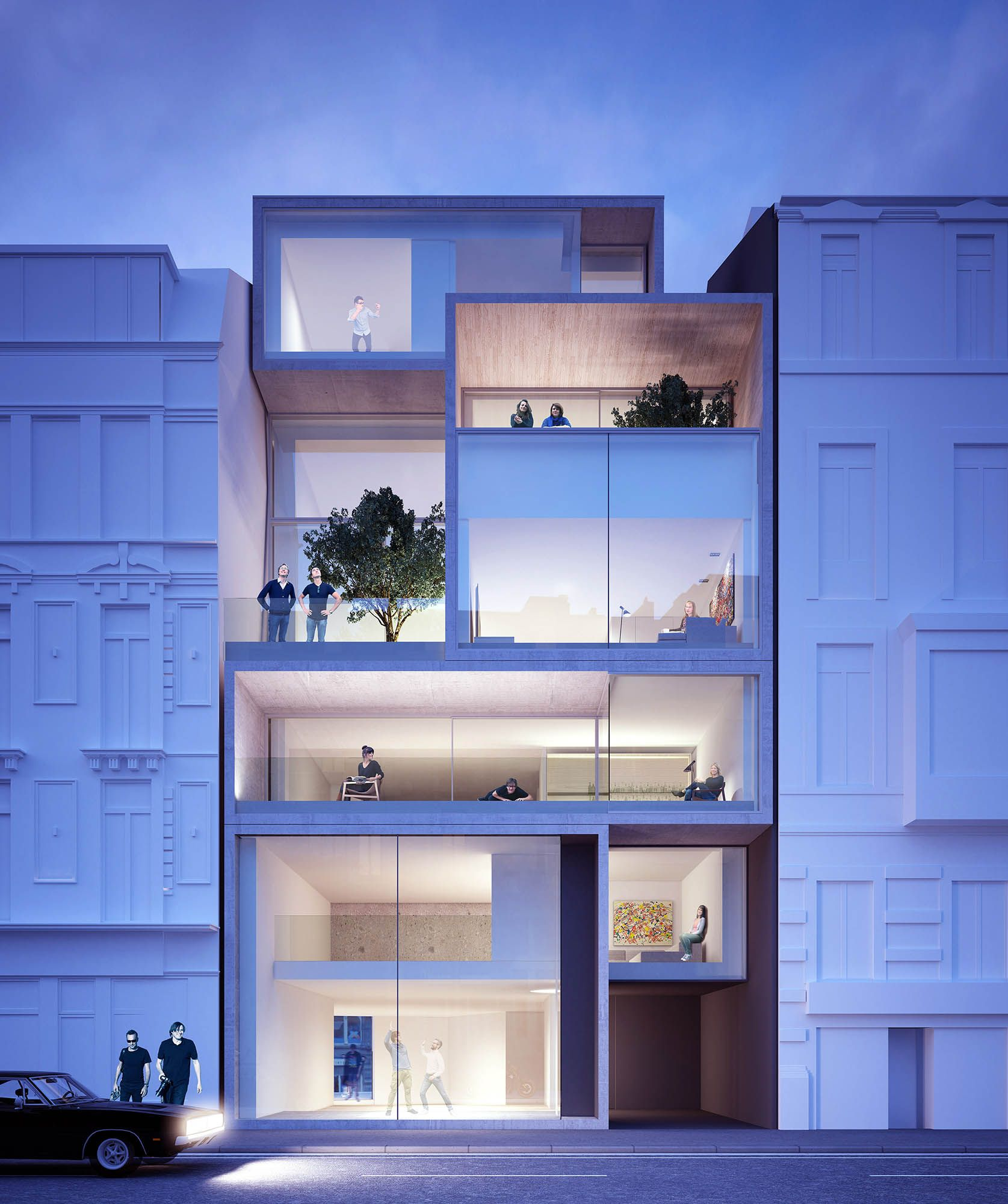 Multiresidential Golden Ratio Gent Vlaanderenstraat // ABS Bouwteam //  Govaert & Vanhoutte Architects