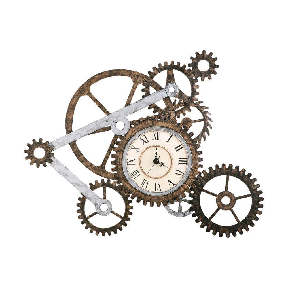Gears Clock   Keys, Clocks, Compasses & Such   Pinterest   Gear ...