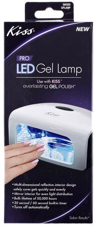 Kiss Everlasting PRO LED GEL Lamp For Sale At Walmart Canada. Shop And Save  Health