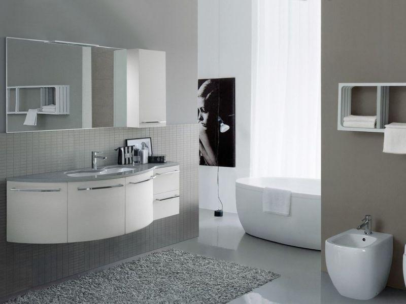 Attraktiv Badezimmermöbel In Weiß U2013 38 Moderne Badmöbel Sets #badezimmermobel  #badmobel #moderne