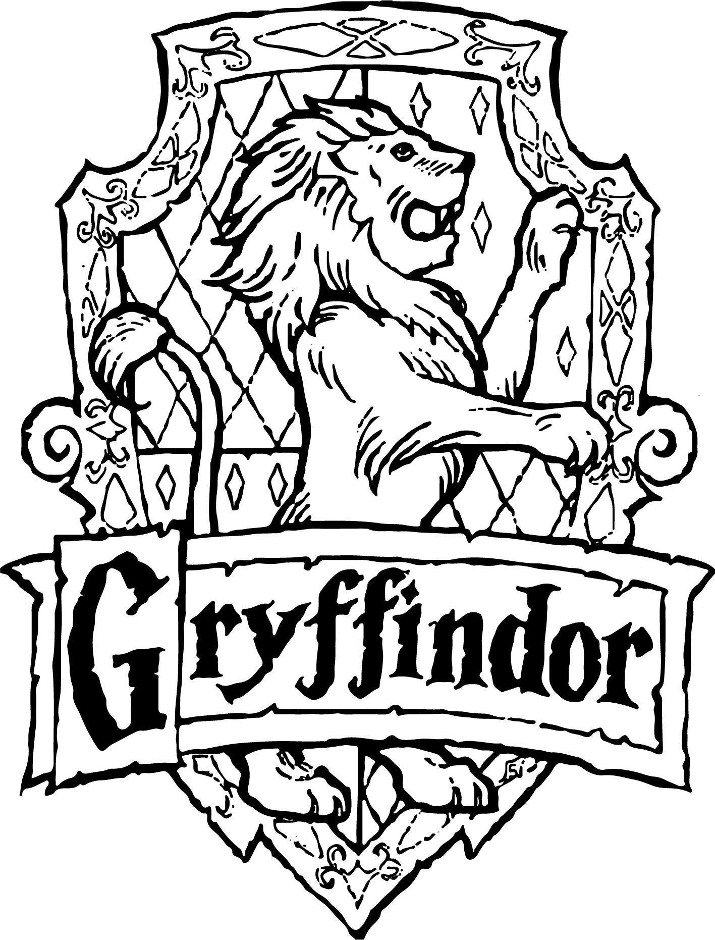 gryffindor svg crest emblem badge svg harry potter hogwart
