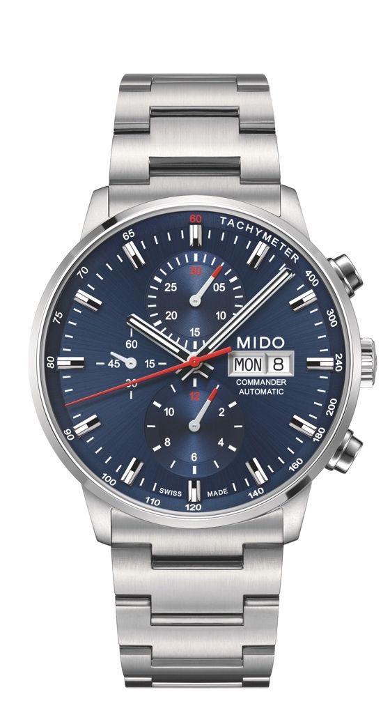 80c1a930f88 10 relógios acessíveis no Brasil. Mido Commander II