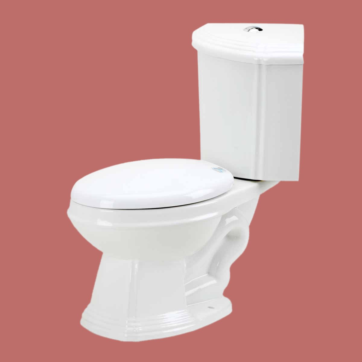The Sheffield Dual Flush Elongated Small Corner Toilet Saves You Bathroom Space And Helps Conserve Water Buy Corner Toil With Images Corner Toilet Toilet Bathroom Toilets