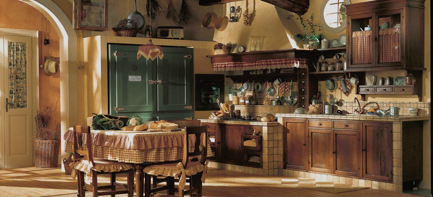 Incontrada, Cucina rustica country pensata per gli amanti del ...