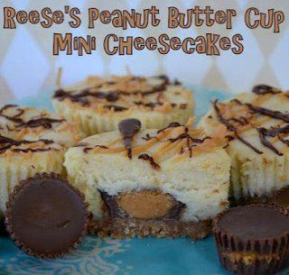 Reeses crunch cheesecake cupcakes...yum. http://www.momontimeout.com/2012/04/reeses-peanut-butter-cup-mini/