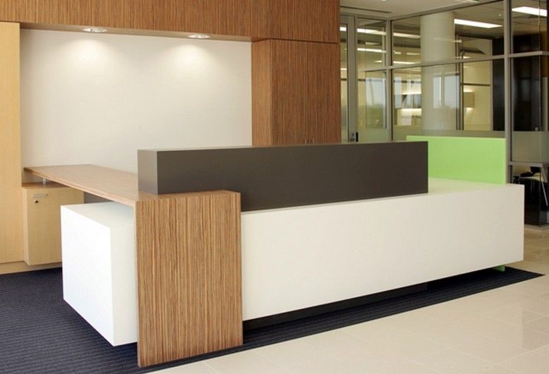 High Gloss White Contemporary Office Reception Desk Counter Office Reception Design Reception Desk Design Reception Desk Office