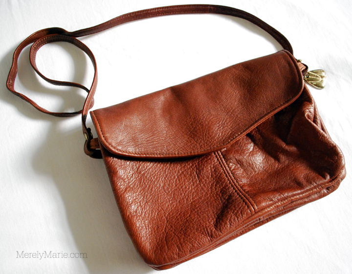 How to Clean Leather Purse | Upcycle | Clean/Freshen