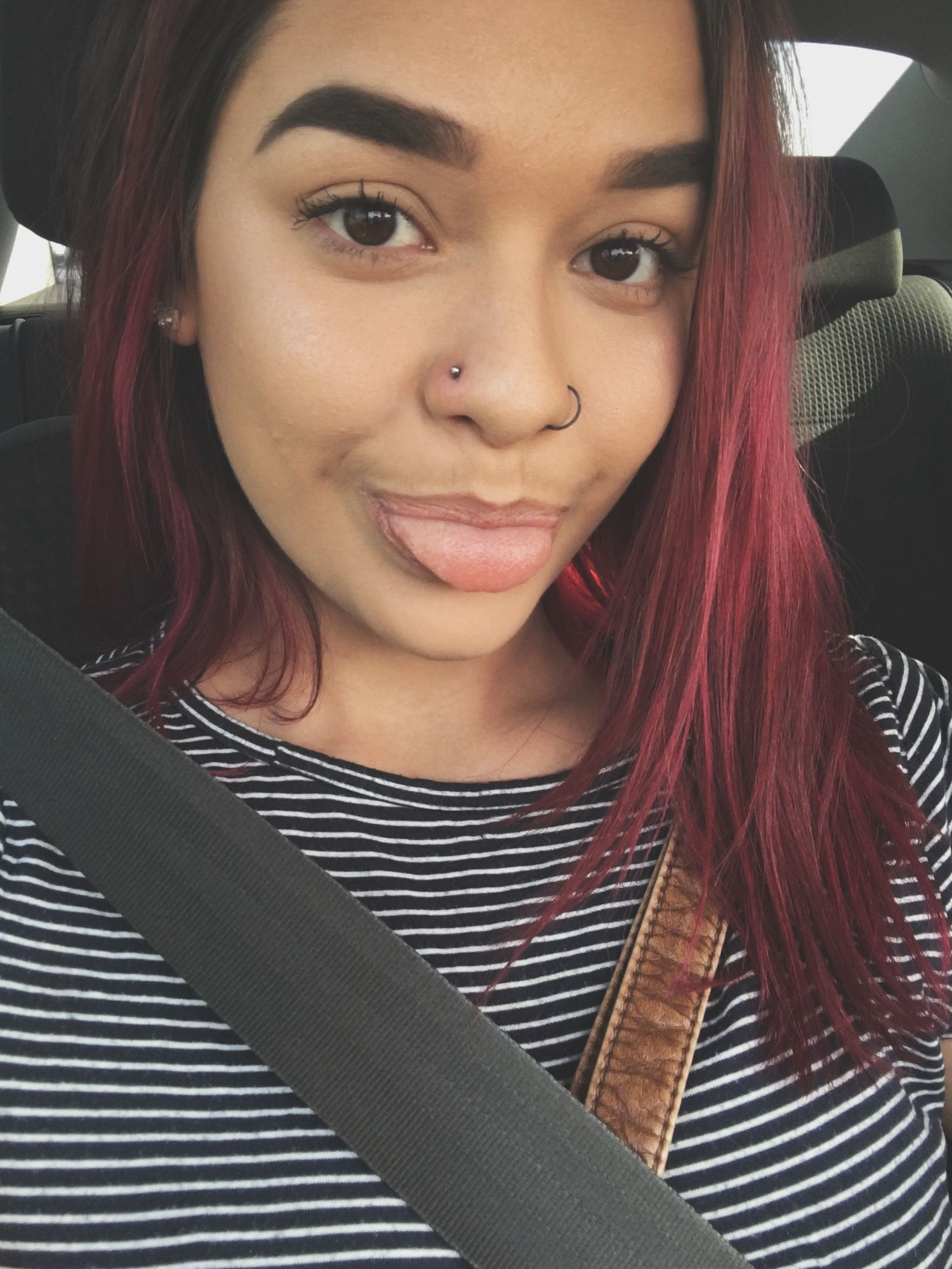 Piercing from nose to ear  Double nose piercing  piercings  Pinterest  Double nose piercing