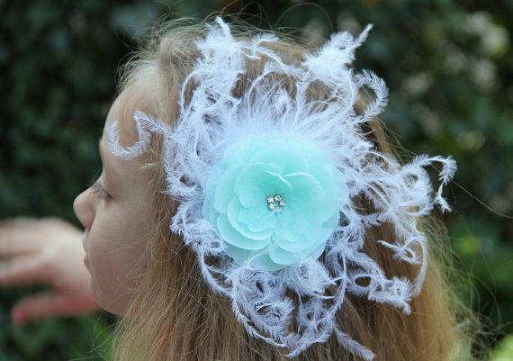 Seaside Dreams ocean fairy mermaid aqua fascinator by Hairfetti
