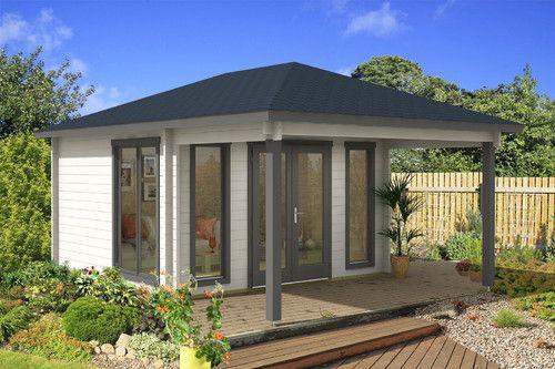 Gartenhaus modell madrid 44 gartenhaus pinterest for Gunstiges gartenhaus