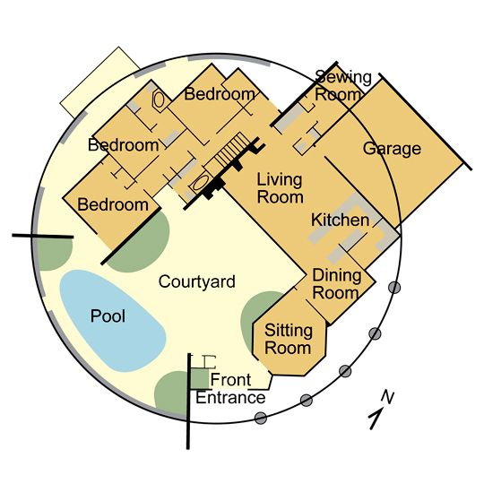 Dome Home Interior Design: Dome Home Interiors