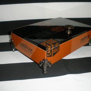 857 Camacho Burnt Orange Man Box Cigar boxes and Box