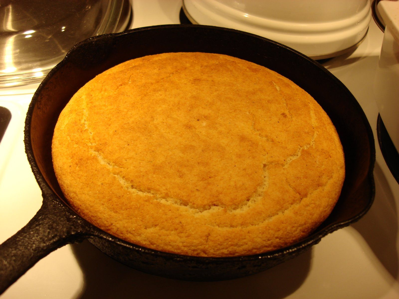 Deep Fried Kudzu Skillet Cornbread And Cornbread Salad Skillet Cornbread Food Recipes