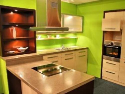 lime green kitchen walls - Google Search | Kitchen | Pinterest ...