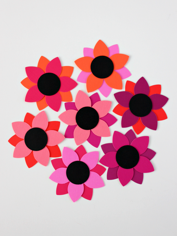 Single Post Simple Paper Flower Paper Flowers Paper Flowers