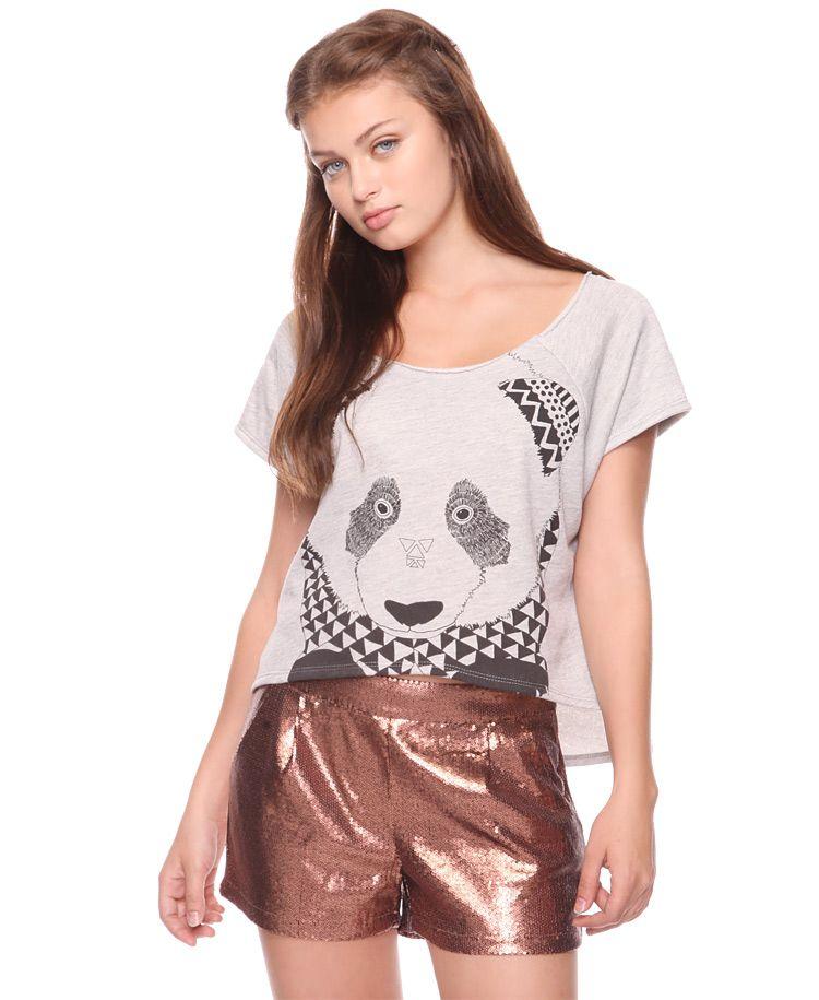 Geo Panda Pullover | FOREVER21 - 2002930177