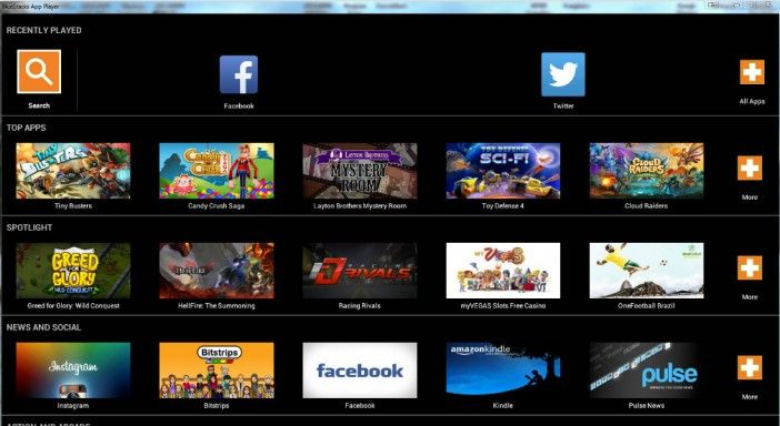 BlueStacks App Player Latest version download Company of