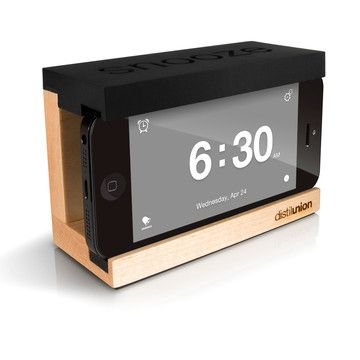 Iphone Snooze Alarm Clock Black 34 99 Now Featured On Fab Hout Meubels