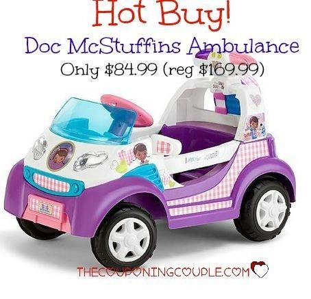 Doc Mcstuffins Ambulance 84 99 Reg 169 99 Doc Mcstuffins Doc Mcstuffins Toys Doc Mcstuffins Birthday Party