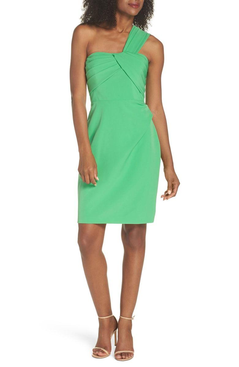 Vince Camuto Laguna One Shoulder Scuba Dress Nordstrom Scuba Dress Nordstrom Dresses Dresses [ 1197 x 780 Pixel ]