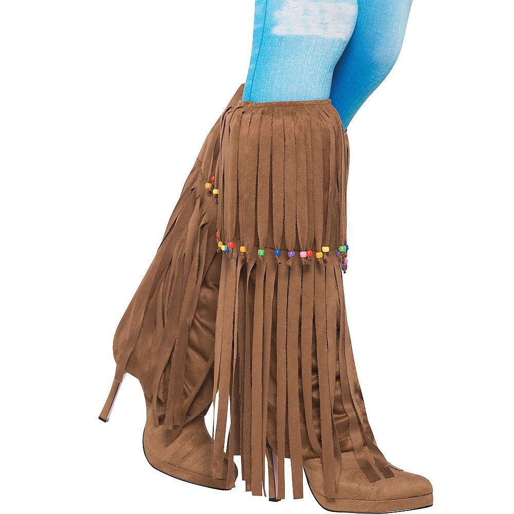 Hippie Boot Tops Party City Hippie boots, Hippie