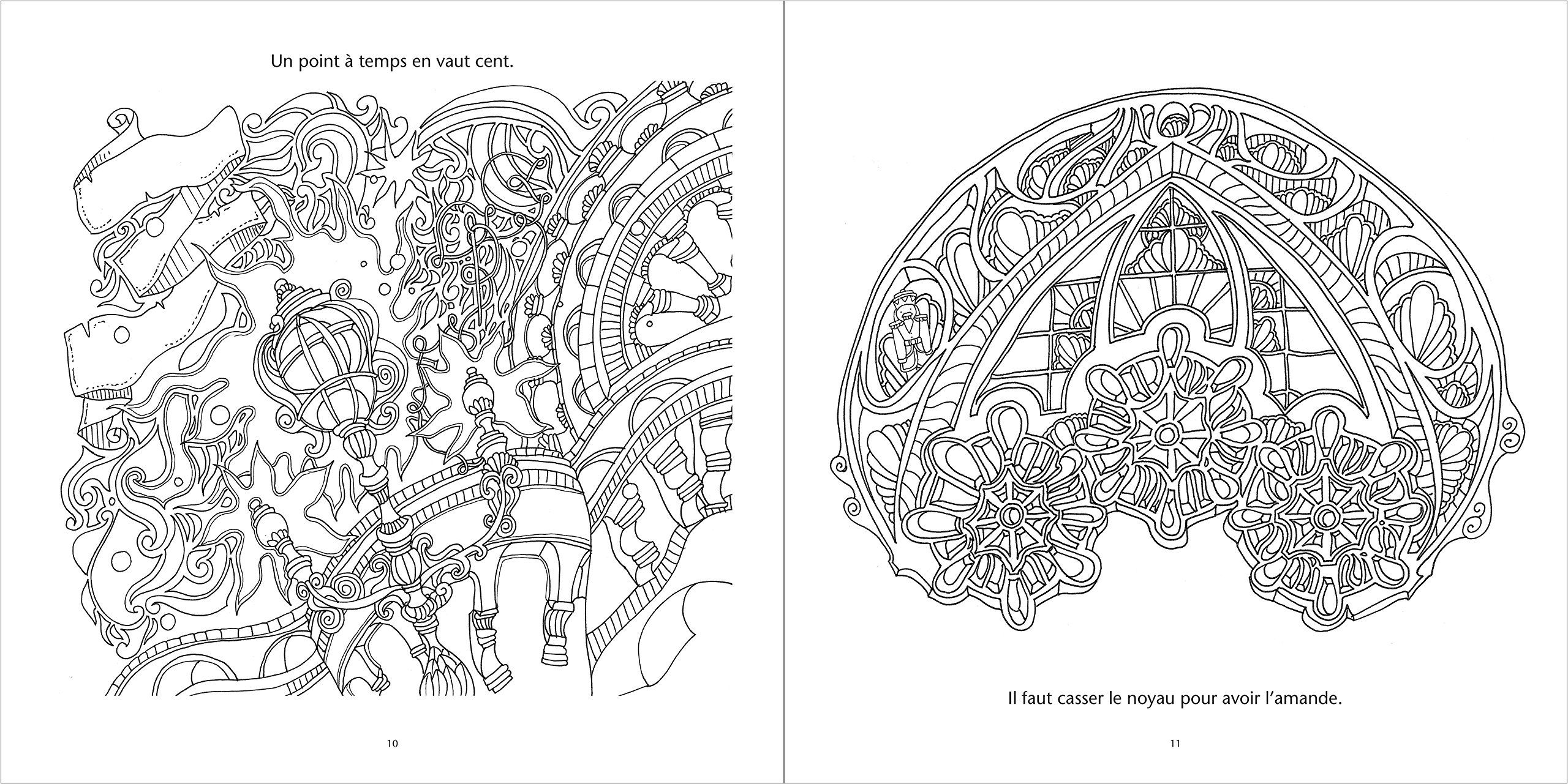 Marvelous French Coloring Book 79 An Adult Colouring Book