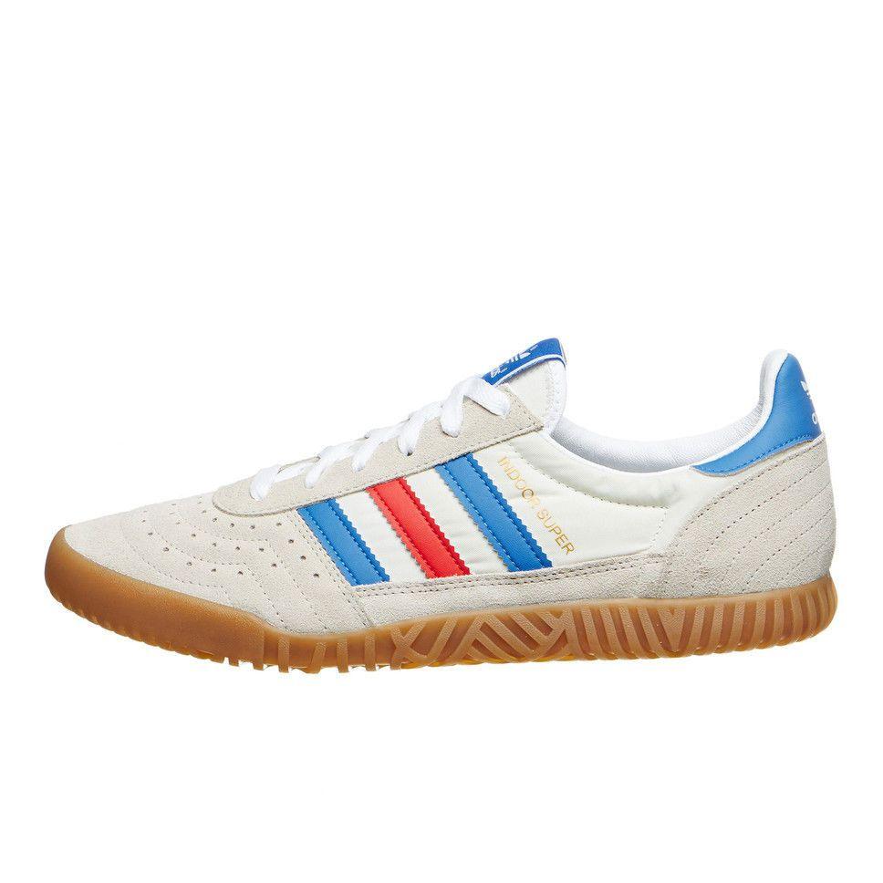 adidas in super spzl nucleo bianco / bright royal / calzature