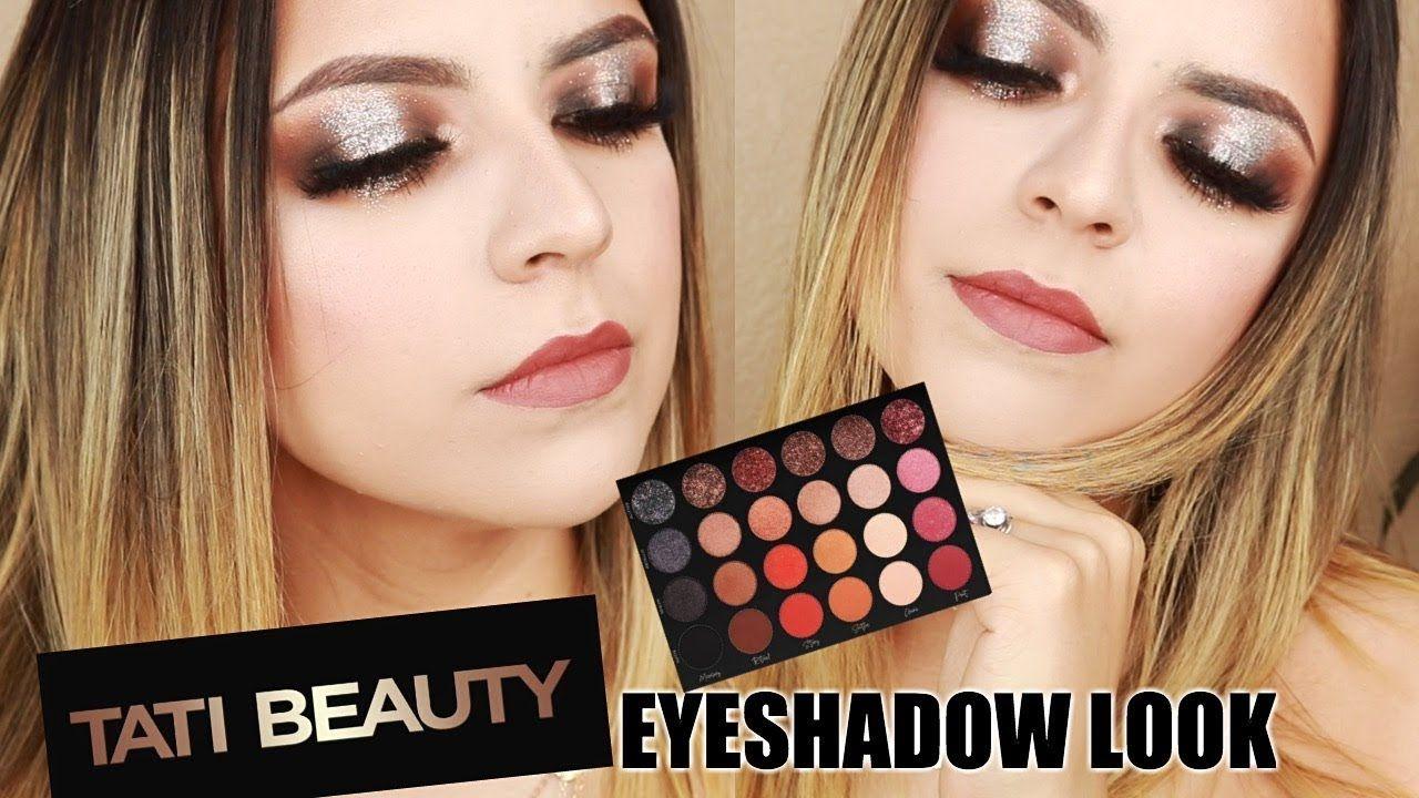 Tati Beauty Spotlight Glam Eyeshadow Makeup Tutorial