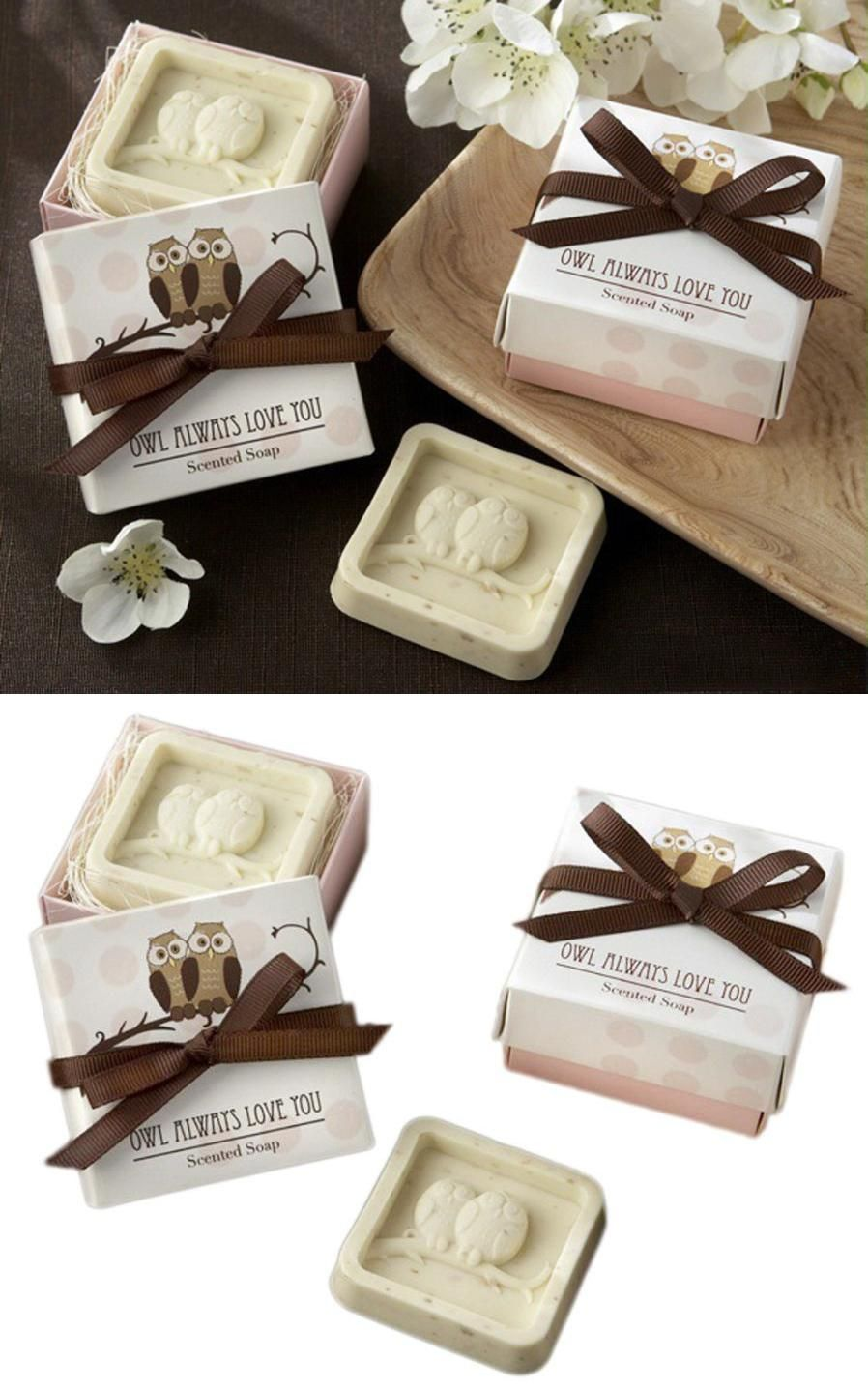 Visit to Buy] Handmade Owl Design Bath Soap Wedding Valentine Party ...