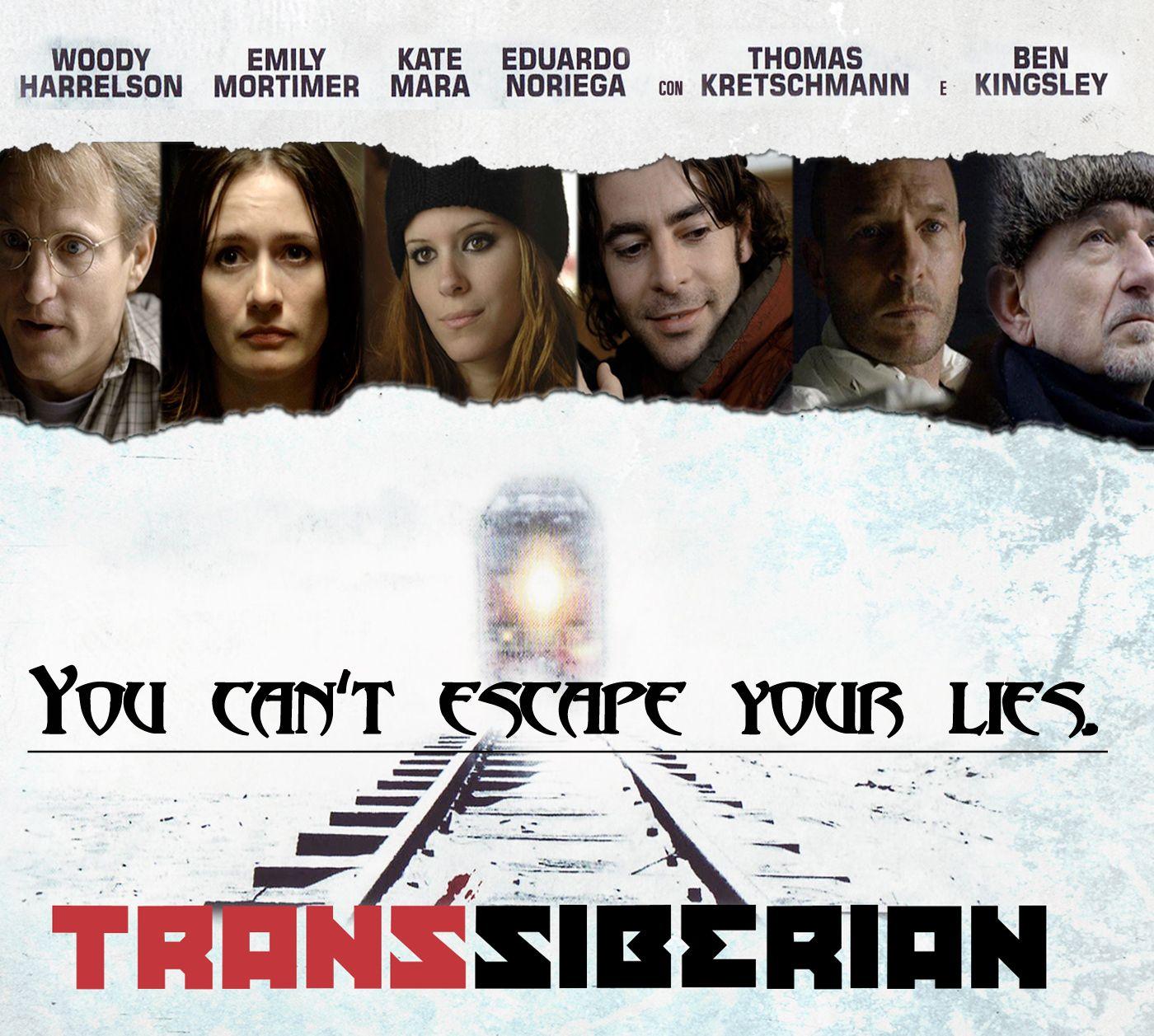 Transsiberian #psychothriller #movies #taglines | Movie taglines ...